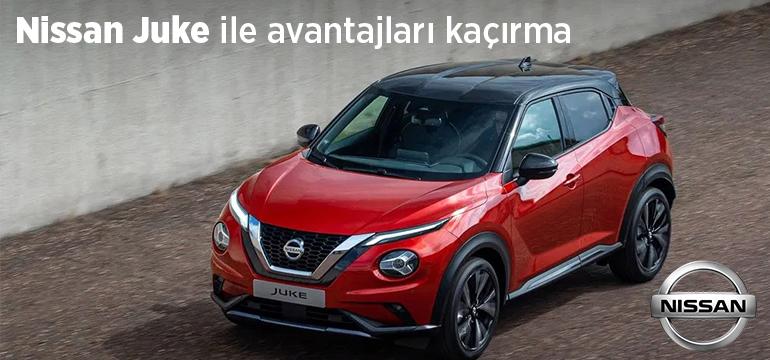 Nissan Juke Faizsiz Araç Kredisi Kampanyası