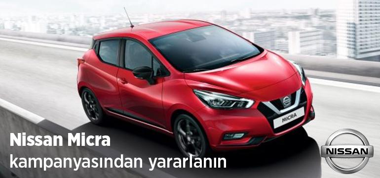 Nissan Micra Faizsiz Araç Kredisi Kampanyası