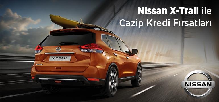 Nissan X-Trail Faizsiz Araç Kredisi Kampanyası