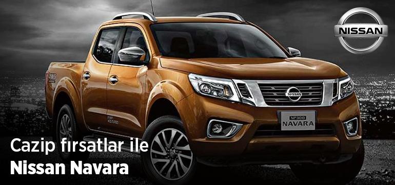Nissan Navara Faizsiz Araç Kredisi Kampanyası
