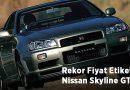 Rekor Fiyat Etiketli Nissan Skyline GT-R R34