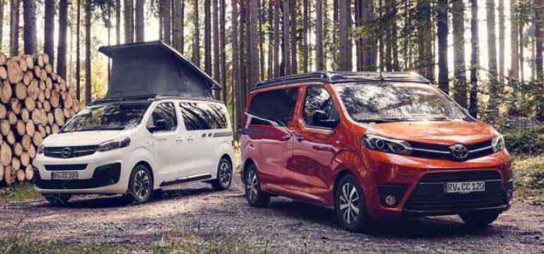 2021 Opel Zafira Life Crosscamp Tanıtıldı!